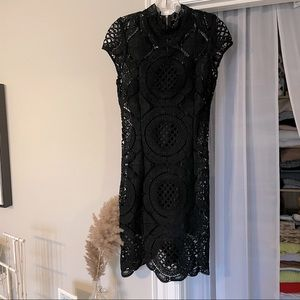 The Vintage Shop - Lace Detailed Dress